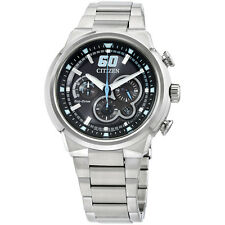 Citizen Stainless Steel Black Analog Dial Men's Watch CA4130-56E