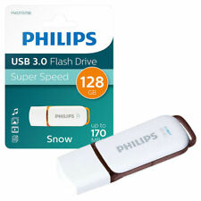 GENUINE PHILIPS SNOW SERIES USB 3.0 FLASH KEY DRIVE USB 3.0 MEMORY STICK 128GB