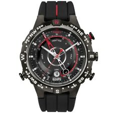 Timex Intelligent Quartz T2N720 Mens All Black Tide Temp Compass Watch £149.99
