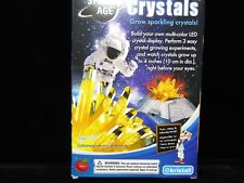 Space Age Crystal Growing Kit with LED Base Citrine