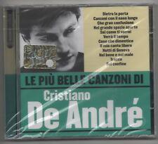 LE PIU BELLE CANZONI di CRISTIANO DE ANDRE' CD WARNER SIGILLATO 5051011331329