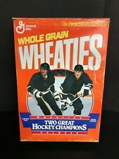 "Wheaties Box Pittsburgh Peguins ""Two Great Hockey Champs"" 1993"