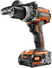 Cordless Hammer Drill Kit Brushless 18-Volt Lithium-Ion Compact Power Tool New
