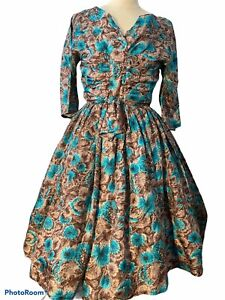 Lovely 50's Pure Silk Dress