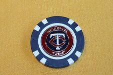 MLB, Minnesota Twins, Baseball, Golf Ball Marker Poker Chip   NEW