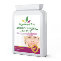 Hydrolysed Collagen Marine With Vitamin C -High Strength Skin Care (60 Capsules)