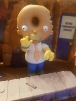 Playmates Simpsons Donut Head Homer WOS World of Springfield Figure