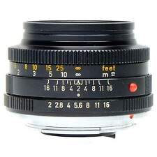 Leica 50mm f2 Summicron-R Lens with Hood