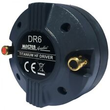 Master Audio DR6 Compression Driver Tweeter 150 Watt RMS 300 Watt Max 8 Ohm