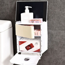 Tissue Holder Paper Holder Box Waterproof Plastic Tissue Shelf LI