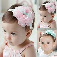 Beautiful Lace Flower Hair Band Headwear Headband For Baby Girl Toddler Kids