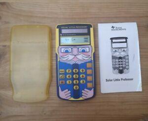 Texas Instruments Little Professor Solar Rechnen Lernspielzeug