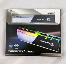 G.SKILL TridentZ Neo RGB 32GB (2 x 16GB) DDR4-3000 Desktop Gaming PC Memory