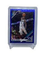 Malik Monk Blue Velocity Prizm 2019-20 Donruss Optic Charlotte Hornets