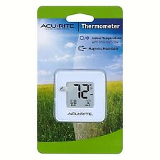 Acurite Digital Thermometer Indoor Temperature Magnetic Mountable NEW 00307W