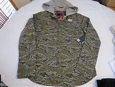 Hurley Juniors Womens XS Camouflage long Sleeve Jacket surf shirt hoodie NWT^^