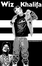 "Wiz Khalifa ""Black Light"" Poster"