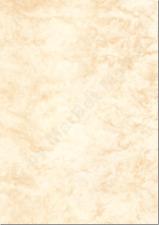 Marmorpapier A4 170g / m² 50 Blatt beige