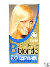 2 X Jerome Russell Bblonde Permanent Hair Lightener LIGHT - MEDIUM Brown Hair