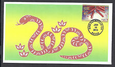 4726 * 2013  LUNAR-SOLAR NEW YEAR ISSUE * YEAR OF THE SNAKE *