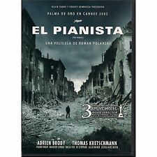 El Pianista / The Pianist Dvd New De Roman Polanski Widescreen Brand New Sealed