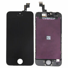 5 X LCD Touch Screen Display Digitizer Assembly Replacement for iPhone 5S Black