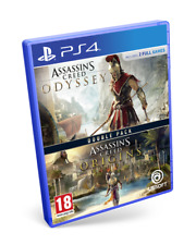 Double Pack ASSASSINS Creed Odyssey + Assassin's Creed Origins PS4 PAL ESPAÑA N