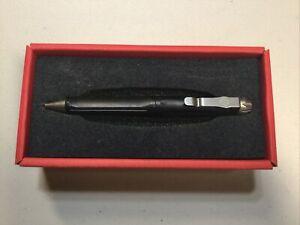 Surefire EWP-01-BK Tactical Black Anodized Aluminum Writing Pen w/ glass breaker