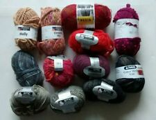 Cotton Crafts Mixed Lot Crocheting & Knitting Yarns
