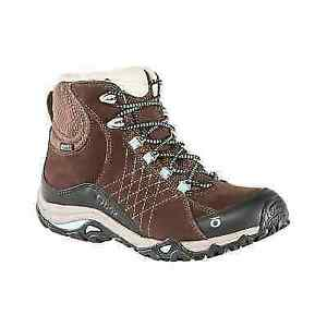 Oboz Sapphire Mid BDry Womens Waterproof Leather Hiking Boots US Sizes 7-10