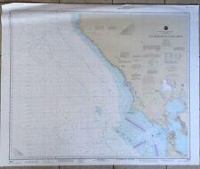 Vintage NOAA Nautical Map San Francisco to Point Arena