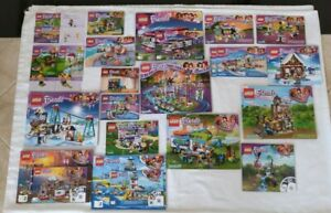 Lego Massive Friends Manual lot. #41106,41130,41324,41339,41340,41375,41380