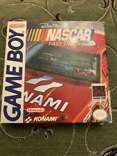 Game Boy Bill Elliot's NASCAR Fast Tracks USA Boxed With Manual