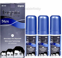 2 x CIPLA TUGAIN HAIR REGROWTH SOLUTION FOR MEN (60 ML)- NEW LAUNCH FREE SHIP