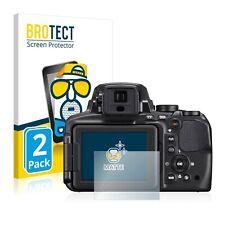 2x brotect Proteggi Schermo Chiaro Nikon Coolpix a300 Pellicola Protettiva Pellicola