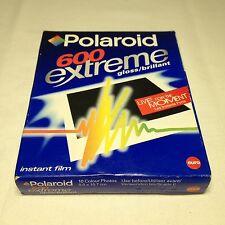 Polaroid 600 extreme gloss INSTANT FILM 10 photos instantanés New stored cool!