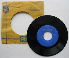 """7"""" Horst Fischer - Blue Lady / Harlem Street - Willy Berking - Philips 344 812"""