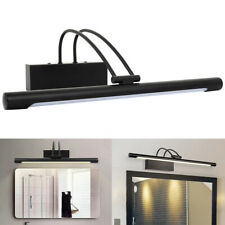 1x Contemporary Black Chrome Indoor Picture Wall Lights Lamps Light Fittings NEW