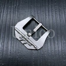 22 24 MM SILVER SCREW IN BUCKLE CLASP CUSTOM MADE FITS PANERAI SUBMARINE PAM