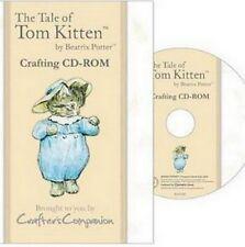 CRAFTERS COMPANION BEATRIX POTTER CD ROM- TOM KITTEN