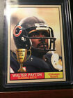WALTER PAYTON ROOKIE STAR FOOTBALL CARD. rookie card picture