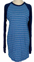 Kathmandu Womens Blue Striped Long Sleeve Thermal Shirt Size L