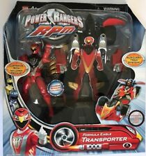 Power Ranger Rpm Formula Eagle Transporter Morphing Toy Figures New