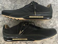 2008 Adidas Porsche Design Driving Leather Shoes US 13 Men's Crude Olive Gum