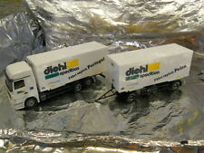 ** Herpa 278423 Mercedes Benz Actros L Interchangeable Box Trailer Diehl 1:87