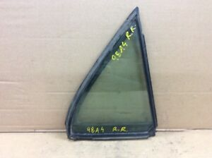 98-02 Accord 4Dr Sedan Right Rear Quarter Door Vent Glass Triangle Window OEM