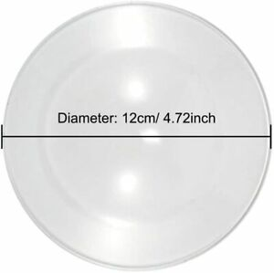 Replacement Glass Dish Bowl Aroma Lamp Candle Oil Burner, Wax Melt Warmers 12cm