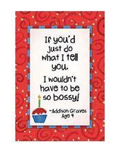 Kid Quips Birthday Card - BOSSY - #KQ-C-BDT18342