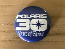 Vintage Polaris 30 Years of Spirit Button Pin Pinback