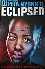 Lupita Nyong'o, Danai Gurira & Cast signed Eclipsed 12x18 Photo Poster Broadway